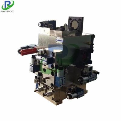 Stretcher hydraulic control valve