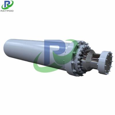 Large press hydraulic cylinder