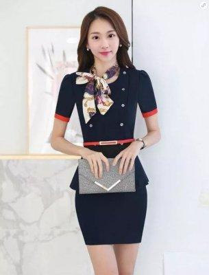 东莞职业装订做(女短裙款式4)