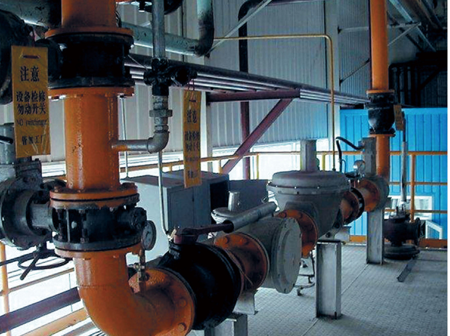 天津钢管公司(大无缝)主管道稳压保护系统