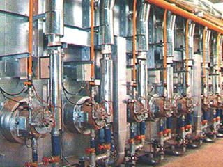 金属加工行业技术领先的燃烧系统