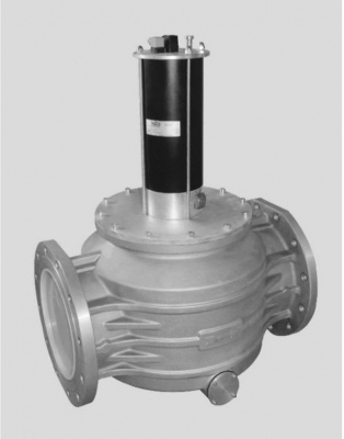 DN 300液压型燃气紧急切断安全电磁阀