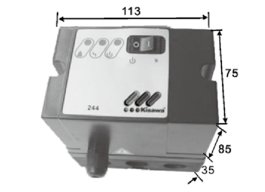 IFT244自动点火及检测控制器