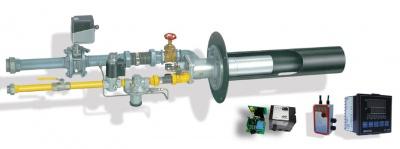 分管道自动点火及空/燃比例调节控制燃烧系统