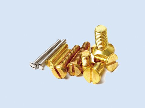 Fastener and material processing process