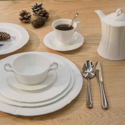 六角珠边系列摆台餐具