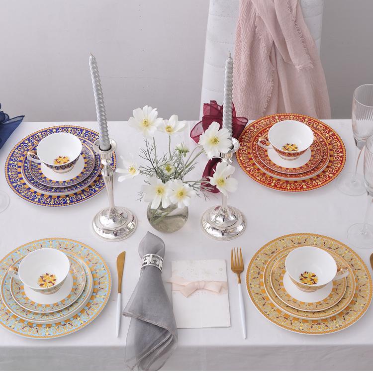 格调五色系列  台面餐具