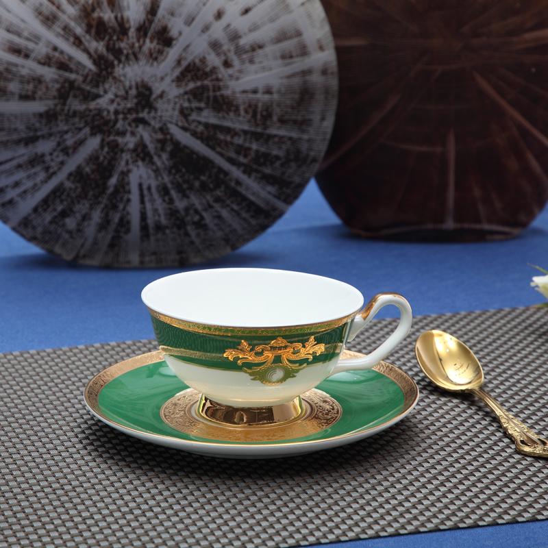 浮雕金绿-台面餐具