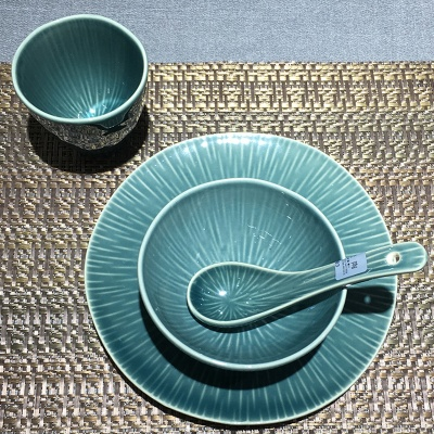 墨蓝流星雨系列-台面餐具