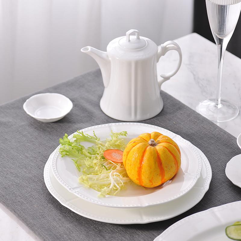 六角珠边系列 台面餐具