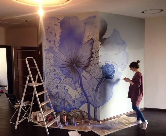 经典十大风格墙绘,超适合用来装修你家