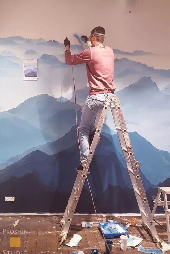 武汉墙绘的制作方法与流程