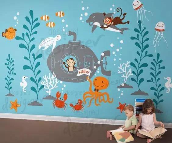 武汉幼儿园墙绘收费标准