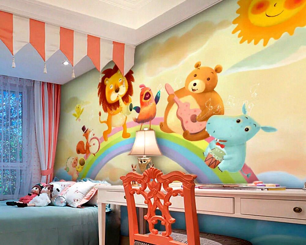 贴墙纸好还是墙绘好?武汉手绘墙公司为您分析!