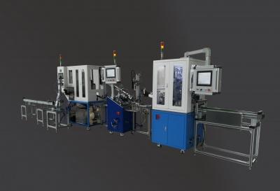 发动机气门清洗、杆径及气密性检测全自动检测线