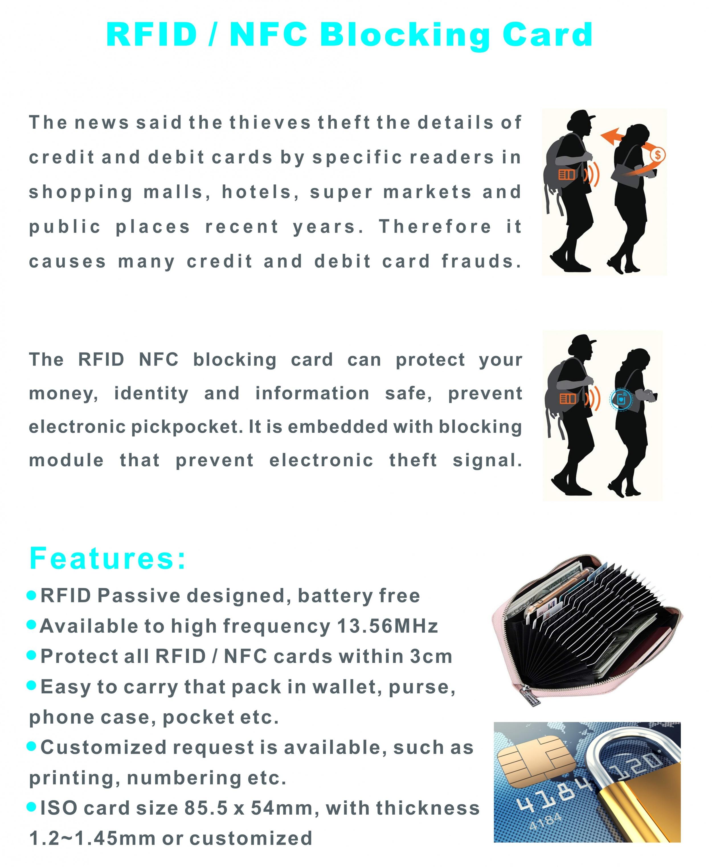 RFID / NFC Blocking ...