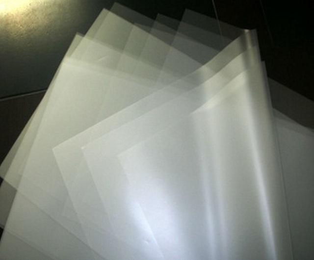 Transparent Flame RetardantPC Film KLX FRPC-1860-1