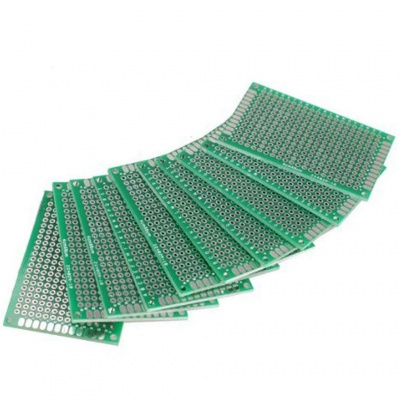 5x7CM FR-4 Universal Breadboard Double Sided Prototype Boards Thickness 1.6mm
