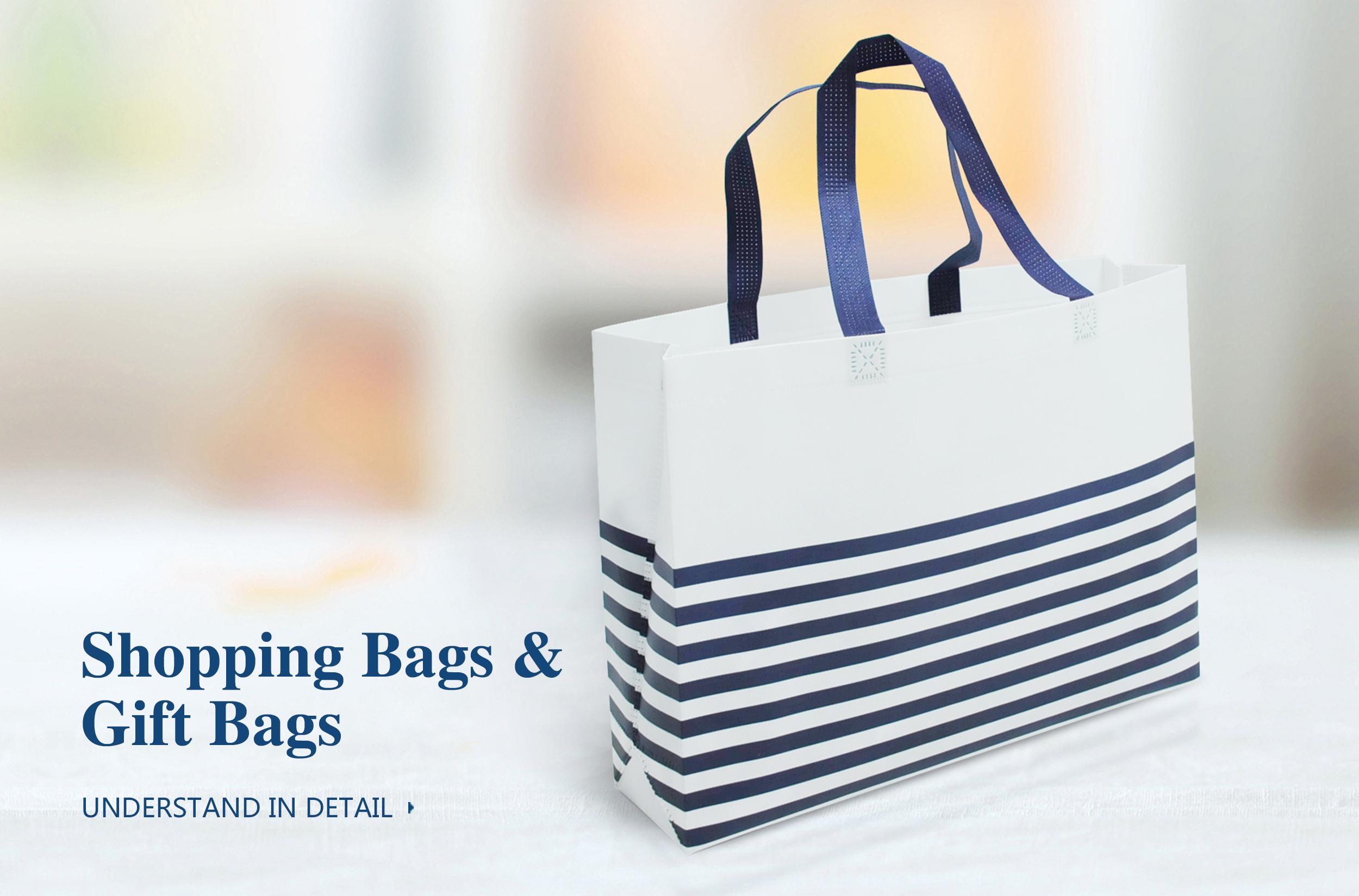 SHOPPING BAGS & GIFT BAGS