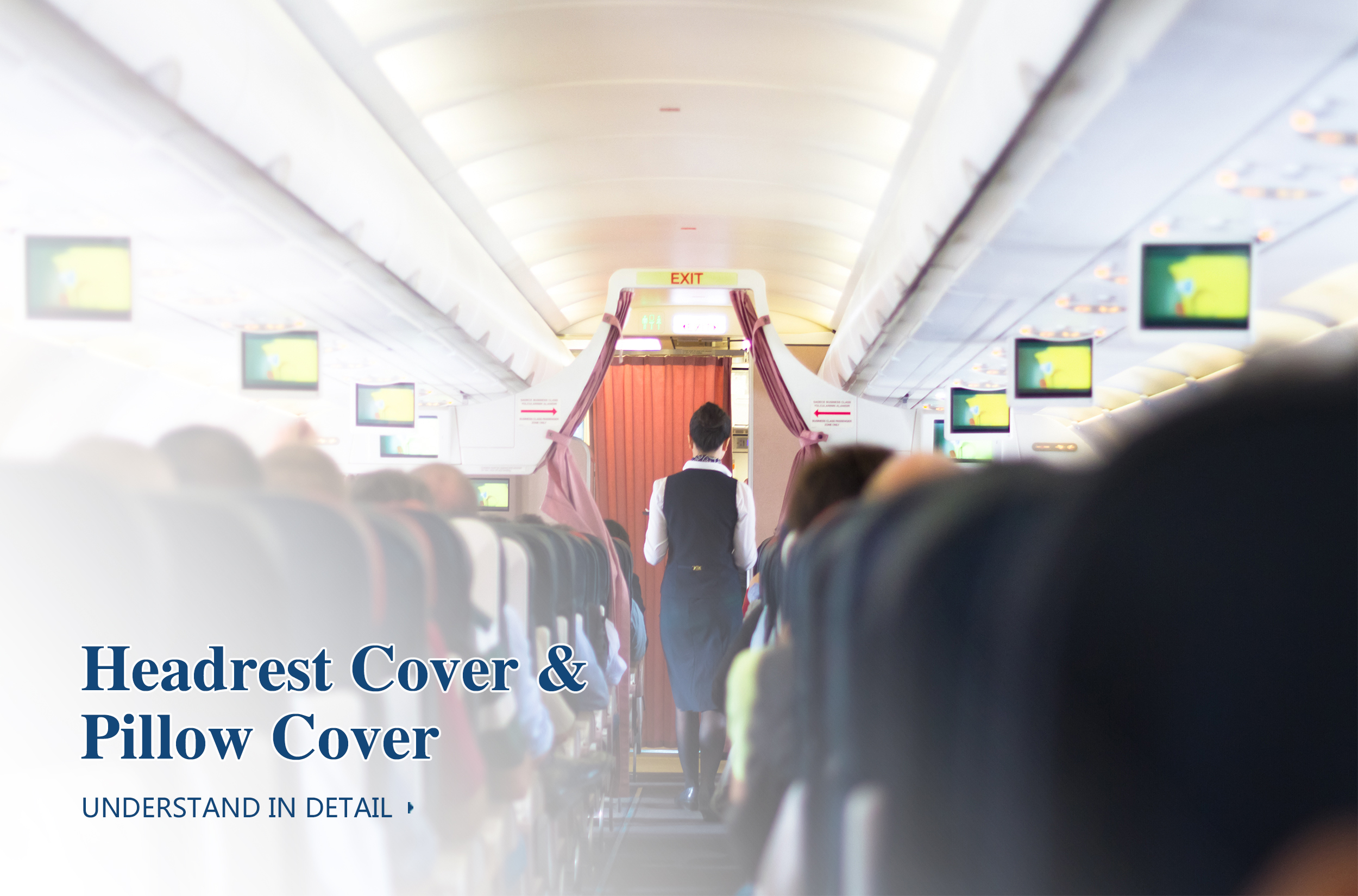 HEADREST COVER &PILLOW COVER