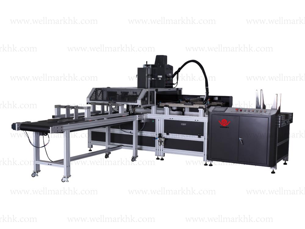 Automatic Book-Type Box Assembly Machine