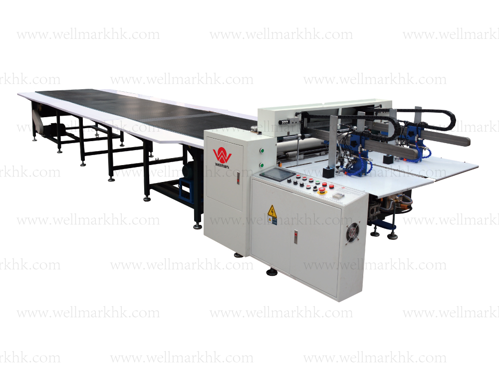 Double Feida Automatic Gluing Machine(feeding paper by double feeder)