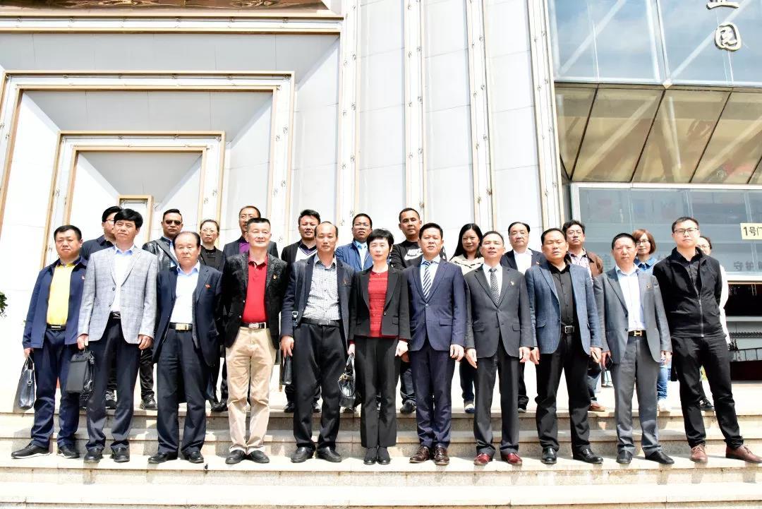 29家省級異地商會到廣東商會觀摩...