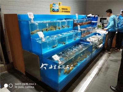 常德超市海鲜池制作厂家