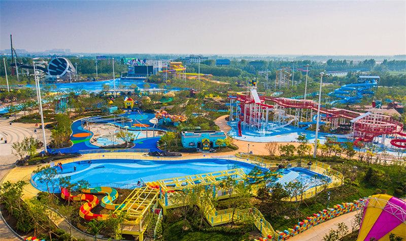 昨天去了盘锦自己的水上乐园————盘锦红海湿地温泉主题乐园