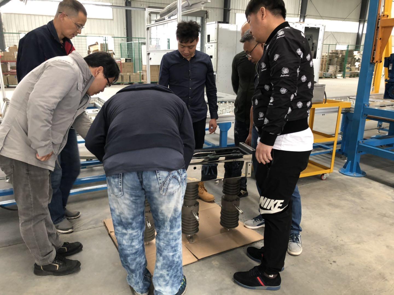 Korean customer visit our company again!