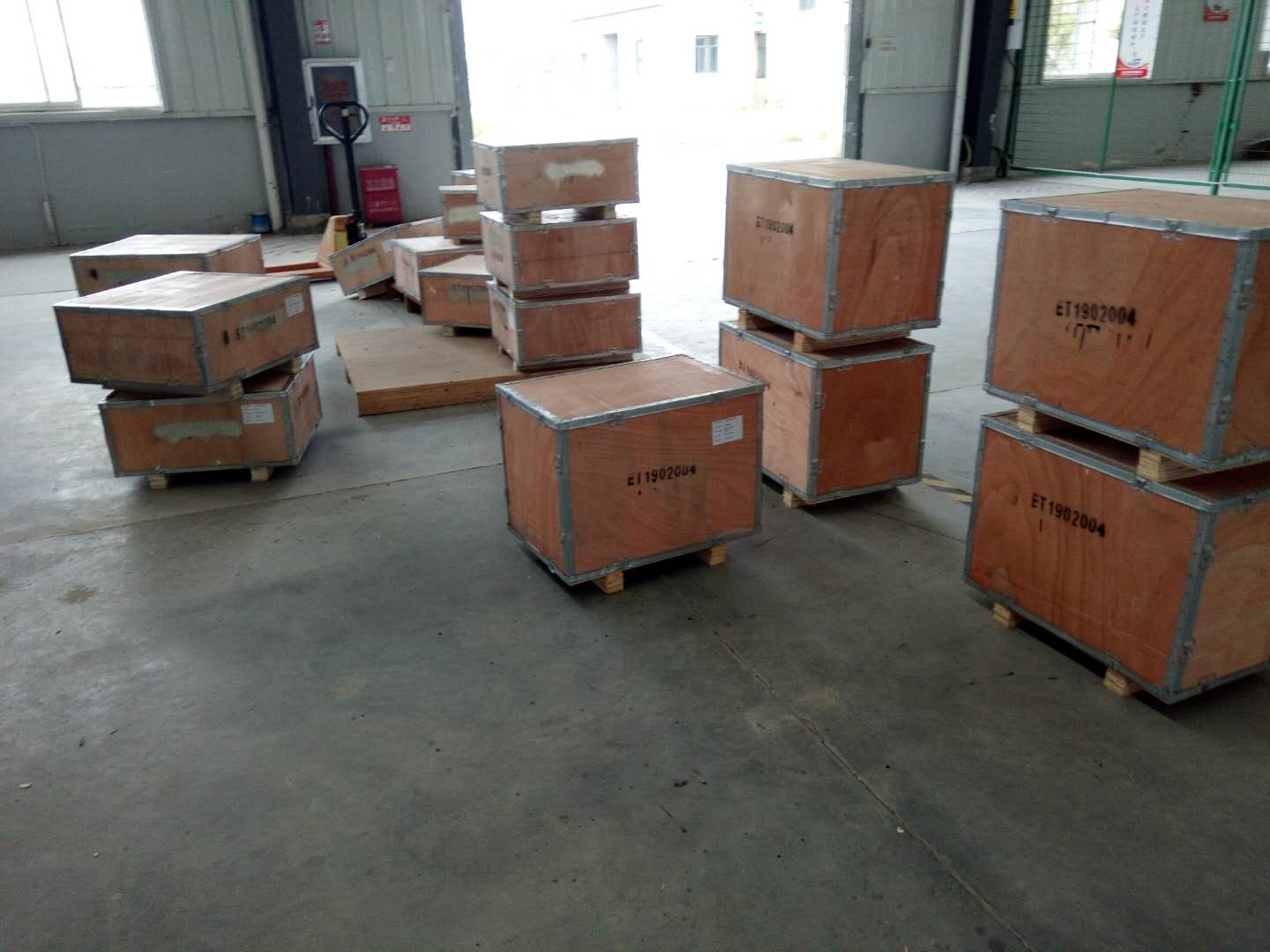 Shipping products for our Ukraine client