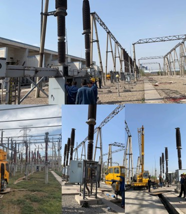 220KV power station