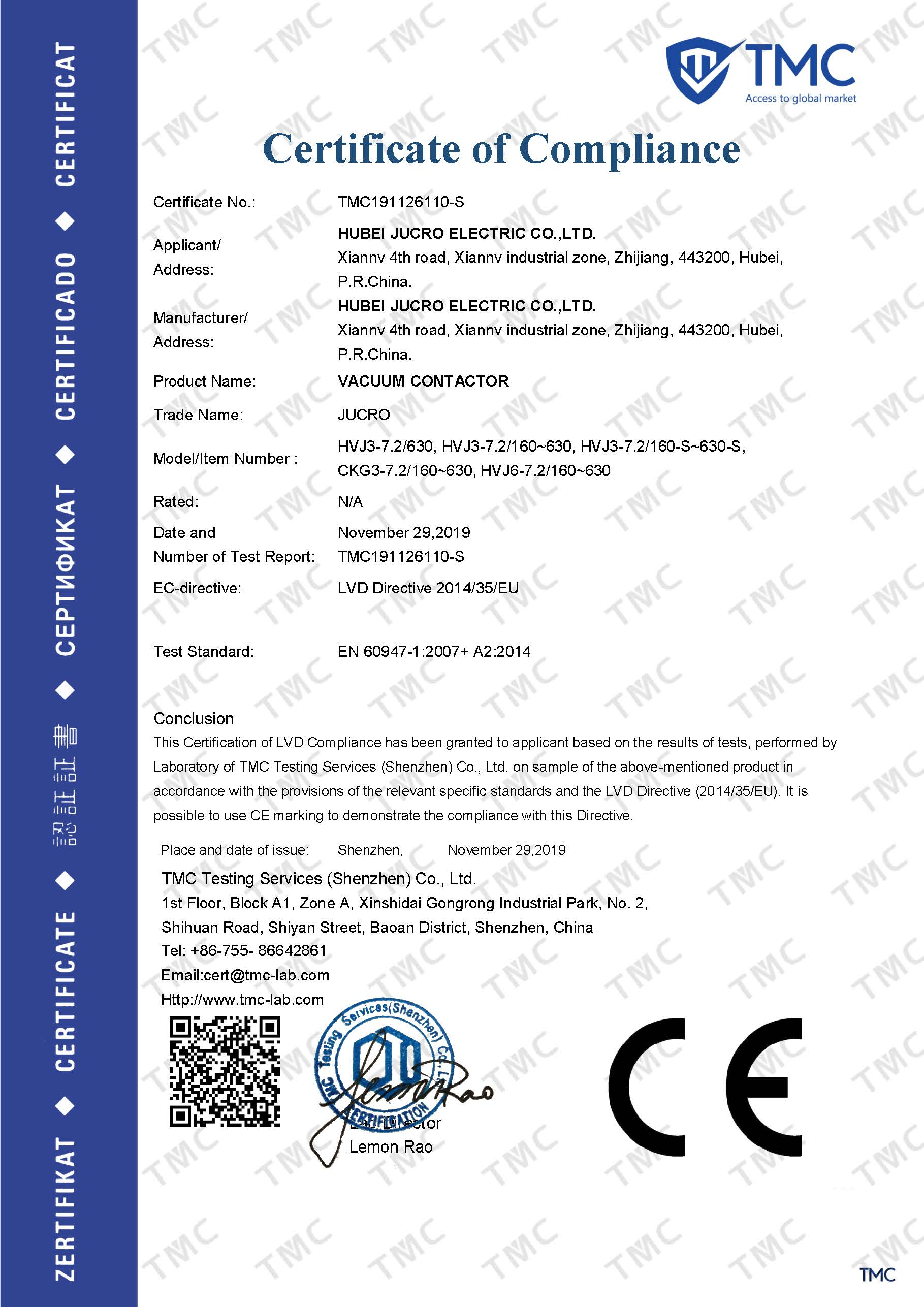 LVD Directive 2014 35 EU