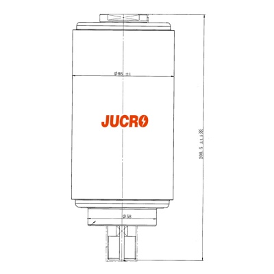 Vacuum Interrupter JUCA-40.5, 38KV 800A 20KA (JUCA-61179A) from JUCRO Electric
