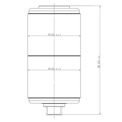 Vacuum Interrupter JUCA-40.5KV 1600A, 1250A 31.5KA (JUCA-61086E1) from JUCRO Electric
