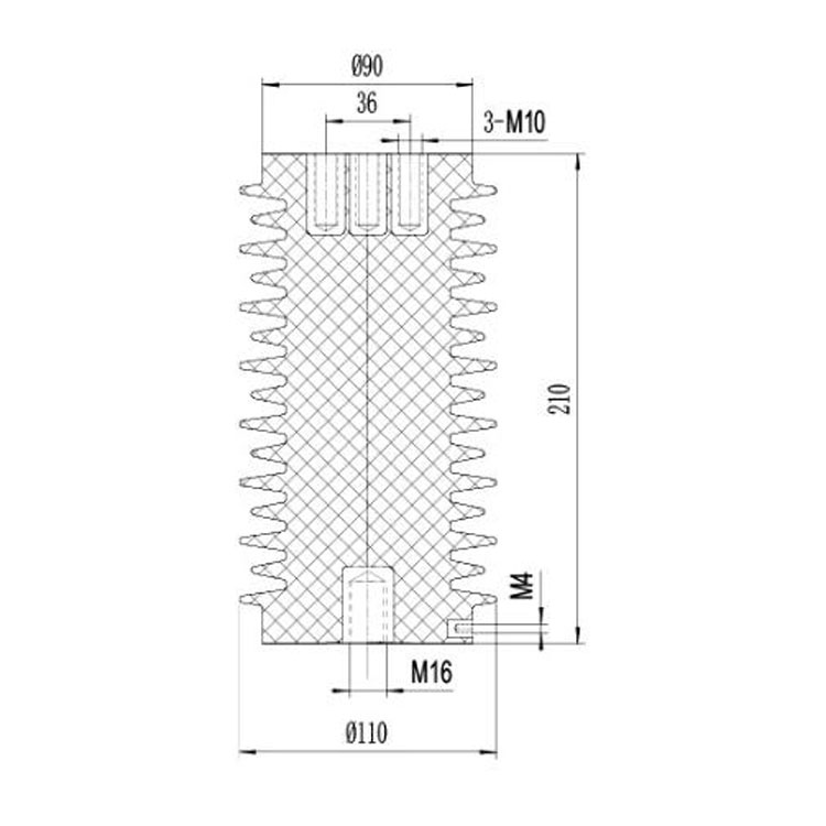Sensor SSR-24J 110mm*210mm 24KV  from JUCRO Electric