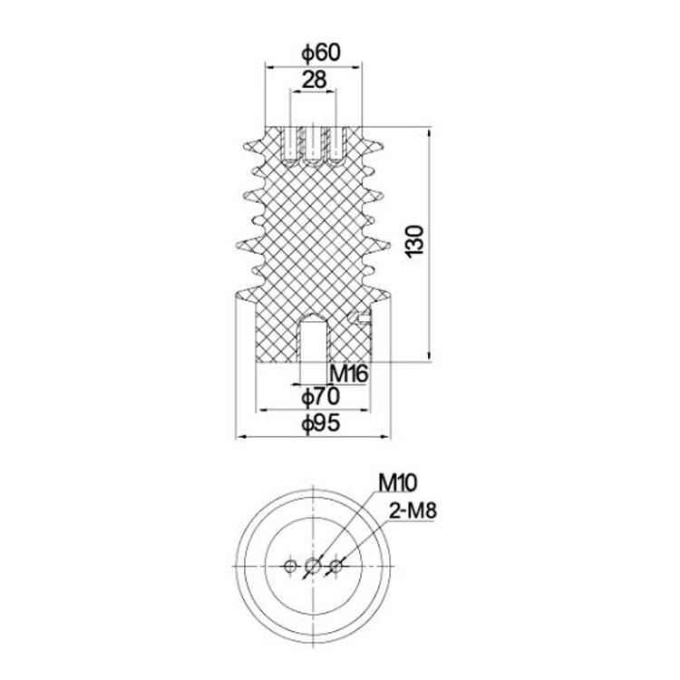 Sensor 12KV SSR-10J 95mm*130mm from JUCRO Electric