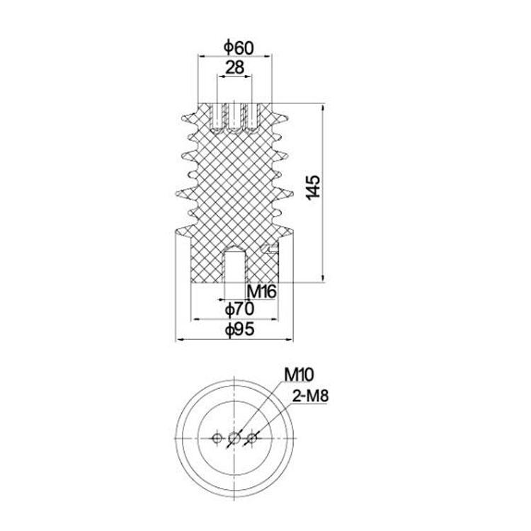 Sensor SSR-10J 95mm*145mm 12KV   from JUCRO Electric