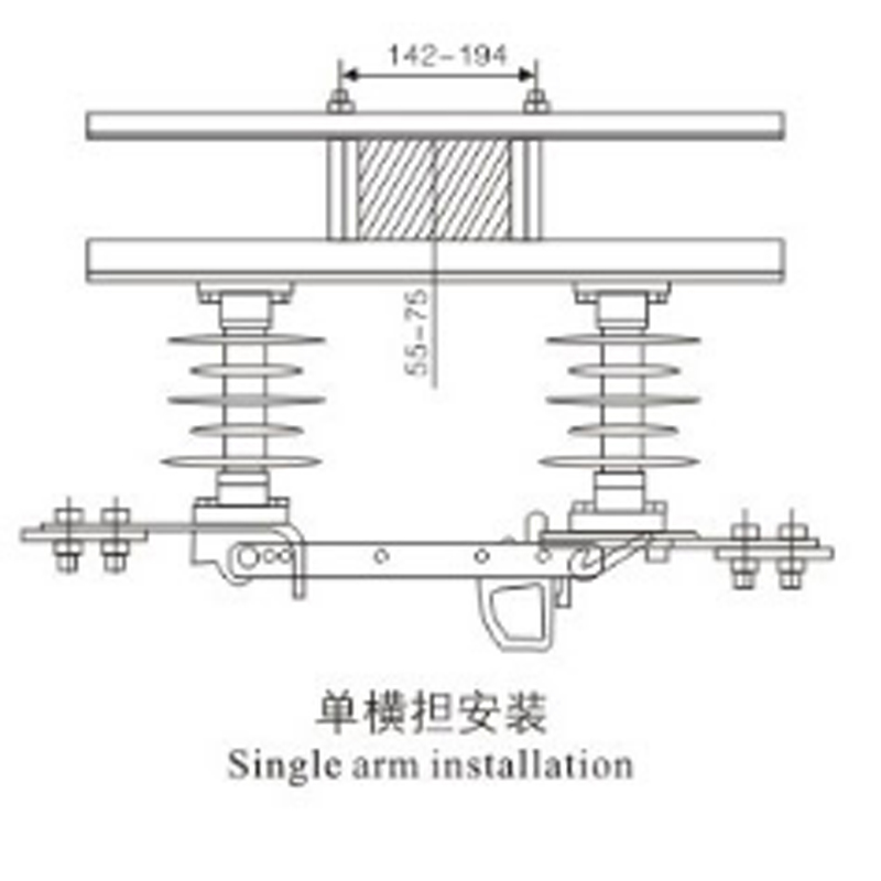 Outdoor HV disconnecting switch GWD-Ι-12KV GWD-Ⅱ-12KV