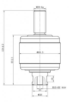 Vacuum Interrupter HCJ5 1.14KV 800A for vacuum contactor from Jucro Electirc