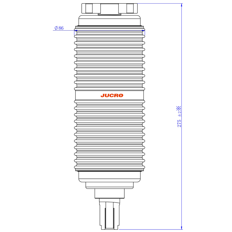 Vacuum Interrupter TD-12/1250-25 (JUC613) from JUCRO Electric