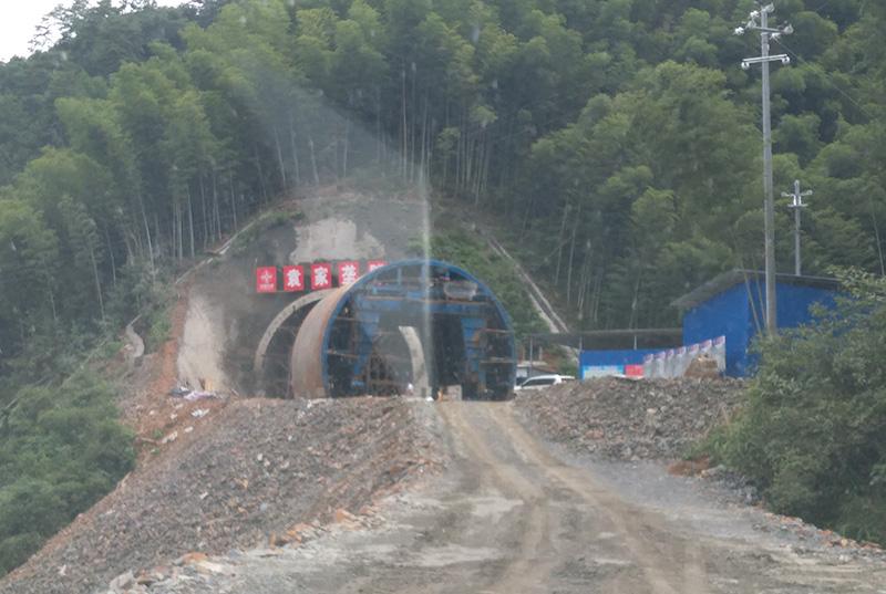 安华袁家垄隧道锚杆检测