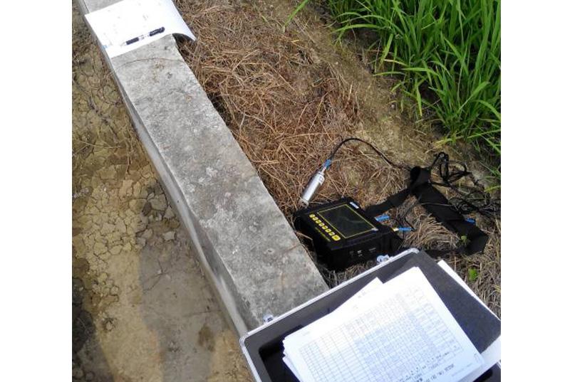 韶关梨市农田灌溉水渠混凝土厚度检测