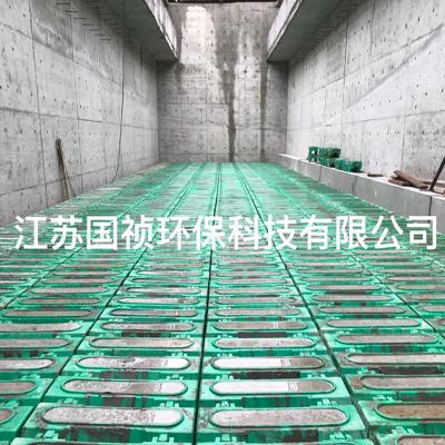 銅陵污水處理廠10萬噸提標改造濾磚項目