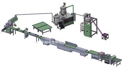 DA-1800方型奶糖生产线