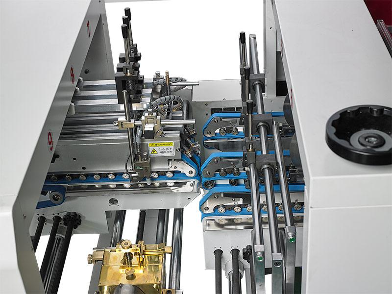 涂胶部-自动高速糊折盒机