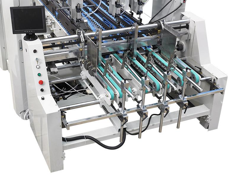 给纸部-自动高速糊折盒机
