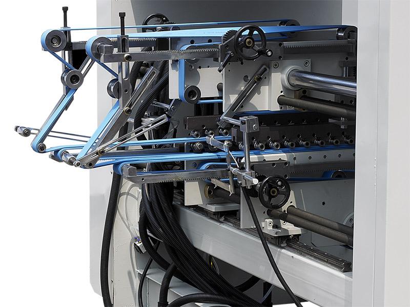 传压部-自动高速糊折盒机