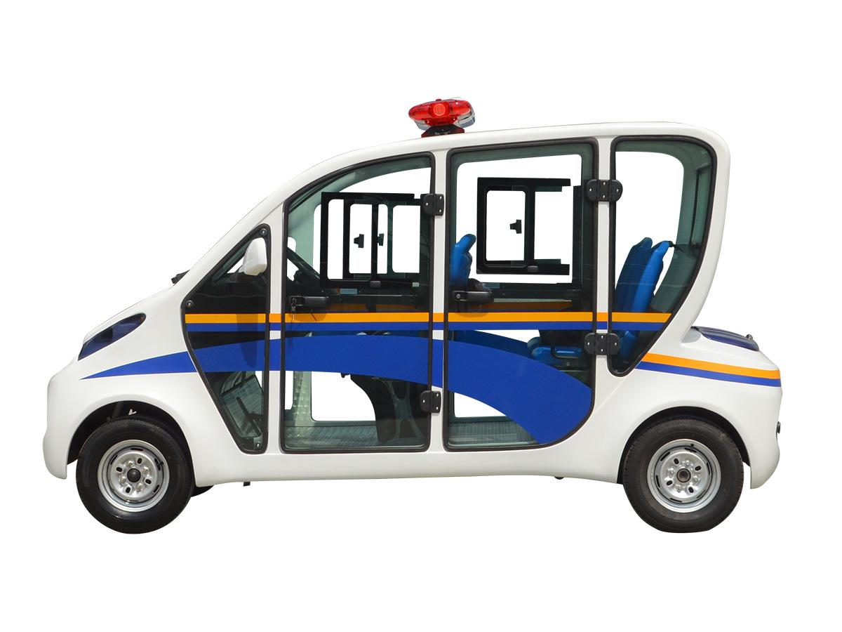 五人座封闭式电动巡逻车