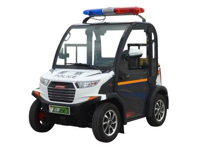 两人座封闭式电动巡逻车